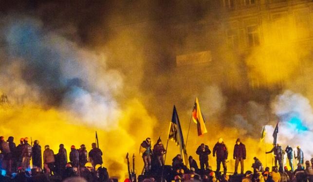המהומות באוקראינה