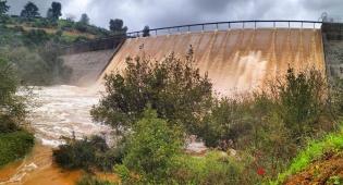גשמי הברכה בסכר בית זית • תיעוד מרהיב