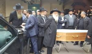 מסע הלוויה בפריז - נרצחה בידי מוסלמי בצרפת ותיקבר בי-ם