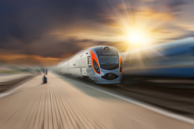 רכבת מהירה. אילוסטרציה