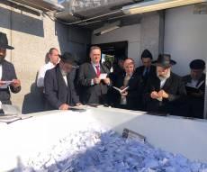 """לפני הנאום באו""""ם: שר החוץ בציון הרבי מליובאוויטש"""