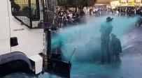 """המפגינים נשכבו וחסמו את המכת""""ז  • צפו"""