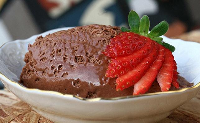 מוס שוקולד. אילוסטרציה