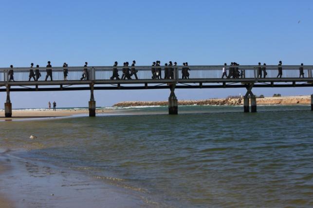 בת שנתיים פונתה בהחייאה מגשר רידינג