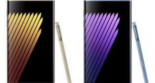 מעוצב, יוקרתי ויקרי - סמסונג הכריזה על מכשיר הדגל  NOTE 7