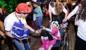"""אוראו תורמת לקהילה - אוראו שימחה ילדים חולים במסיבה של """"רחשי לב"""""""