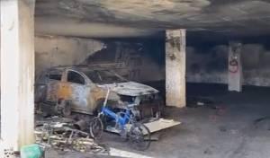 בגלל הטענת האופניים: שריפה פרצה בבניין