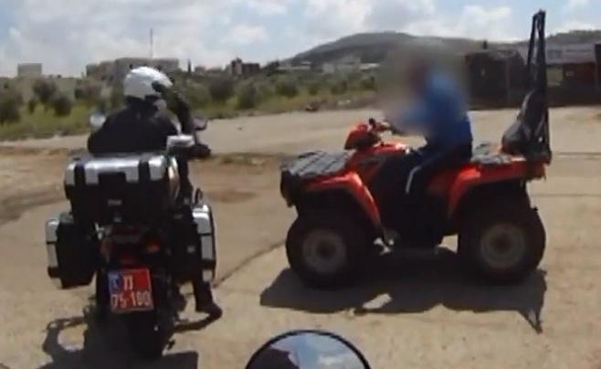צפו: הפעילות של שוטרי סיירת האופנועים בכבישי הארץ