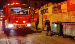 באמצע הלילה: שריפה בבית ישראל • תיעוד