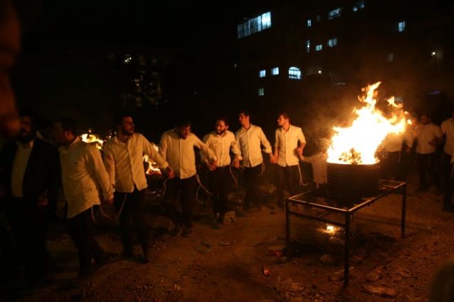 """גלריה: ההדלקה של תלמידי ישיבת רש""""י"""