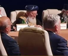 """הראשל""""צ נאם בפני ראשי דתות באזרביג'אן"""