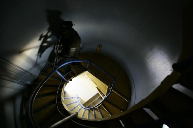 חדר מדרגות. אילוסטרציה
