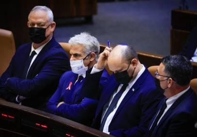 ארבעה אנשים, ארבעה רצונות שונים. ממשלת ישראל ה-36