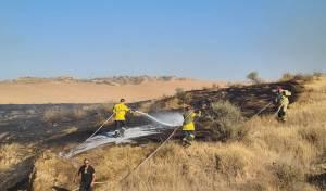 20 שריפות בעוטף עזה - מבלוני תבערה; צפו