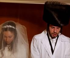 חגיגה בברסלב: העסקן בני מחלב התחתן