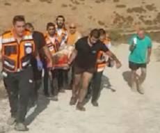 פינוי הפצועים - 9 פצועים בטיול הג'יפים המשפחתי בגליל