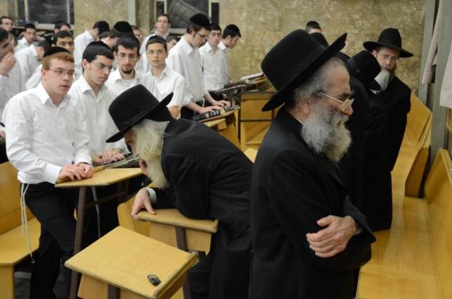 הרב שמואל מרקוביץ' בישיבה