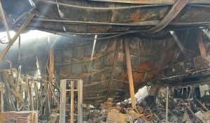 פרוטקשן בחצור; עסקים, בהם גם של חרדים - הועלו באש
