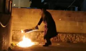 """ב""""ב: ניסו להדליק מדורות; משטרה התערבה"""
