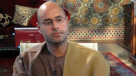 בנו של קדאפי - סאיף אל אסלאם, שוחרר