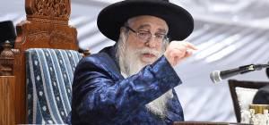 """כ""""ק האדמו""""רמאצנז - הרבי מצאנז ספד: """"נסתלק מנהיג ישראל"""""""