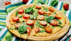 פחות משמין, לא פחות טעים: פיצה מבצק כרובית
