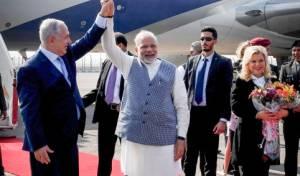 יש לך מקום חזרה לרמאללה? מודי מקבל את נתניהו בהודו