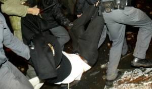 מעצר בגלל המצעד
