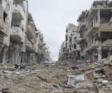 העיר חאלב הרוסה כמעט כליל - בחצות ליל: הפסקת אש במלחמה בסוריה