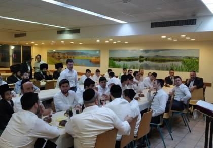 """צפו: סיום הרמב""""ם במלונית הקורונה ב'שניר'"""