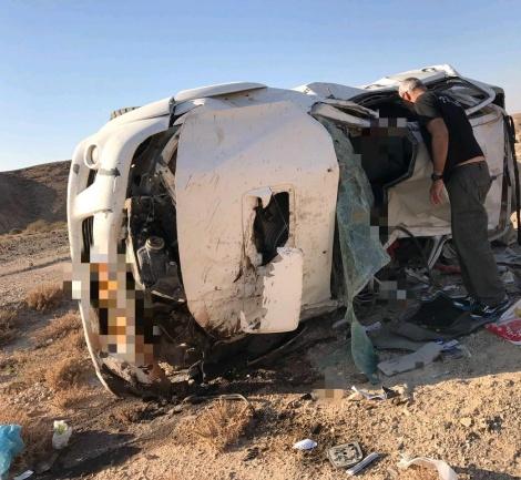 הרכב שהתהפך וגרם למותו של עוזי גדיש - הכבישים שלא כדאי לכם להיתקע בהם