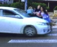 תיעוד התאונה - 4 נערות דתיות צילמו סרטון לפורים - ונדרסו