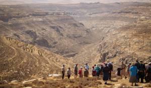 מטיילים אתמול במדבר יהודה