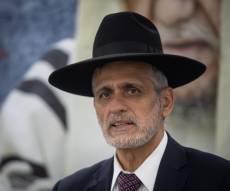 """יו""""ר 'יחד' אלי ישי פורש: הודיע על תמיכה ביהדות התורה"""