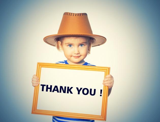 תודה, תודה, תודה!