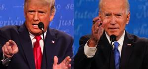 """מי ניצח בעימות השני? """"טראמפ רגוע יותר"""""""