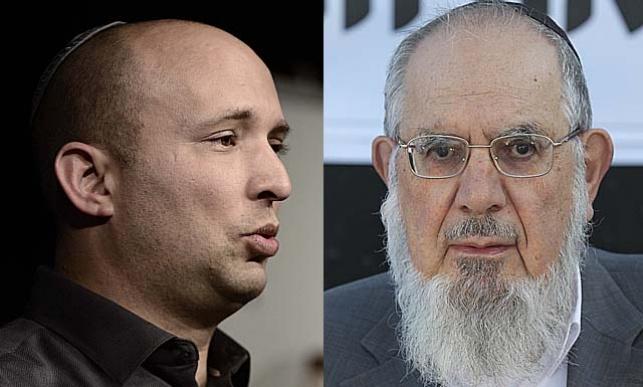 הרב רבינוביץ' ונפתלי בנט