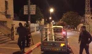 המבצע הלילי להסרת השלטים - שוב: עיריית בית שמש הסירה שלטי צניעות