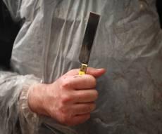 לפני כפרות: כך בודקים את סכיני השחיטה