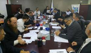 מועצת עיריית אלעד באישור התקציב - עיריית אלעד אישרה את התקציב ל-2016
