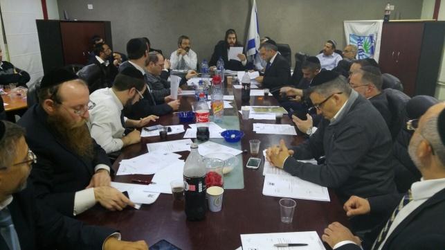 מועצת עיריית אלעד באישור התקציב
