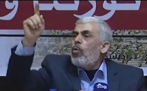 יחיא סינוואר - חמאס: משמרות המהפכה יסייעו במאבקנו