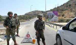 המחסומים לאיתור המחבלים