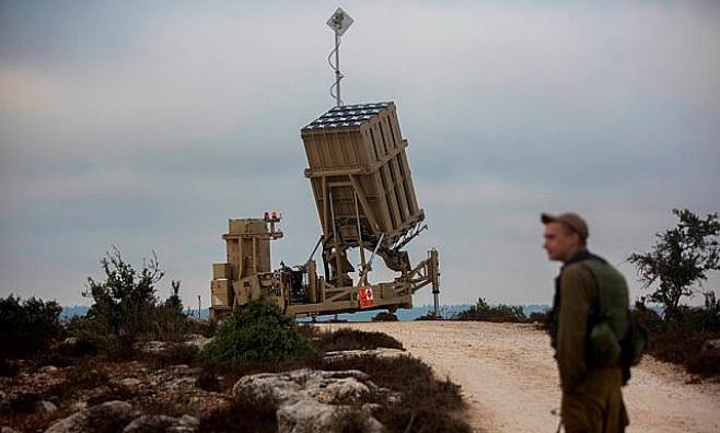 """צפו: מערכת """"כיפת ברזל"""" בירושלים"""