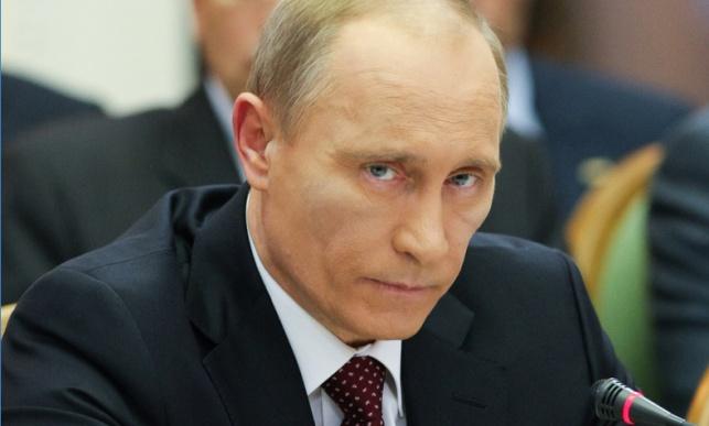 נשיא רוסיה ולדימיר פוטין