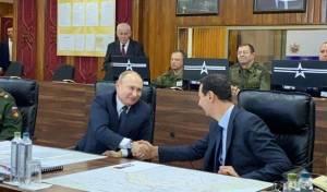 הפתעה בסוריה: פוטין הגיע לפגוש את אסד