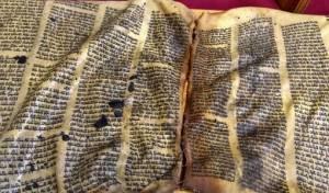 ספר התורה שחולל