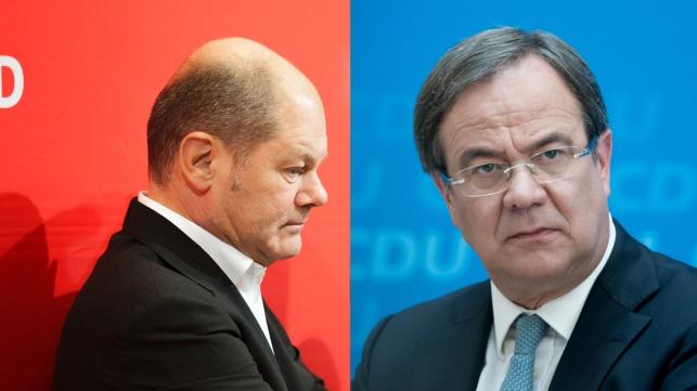גרמניה: שוויון בין שתי המפלגות הגדולות