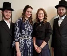 שני הזוגות - מזל טוב: אח ואחות התארסו עם אחות ואח