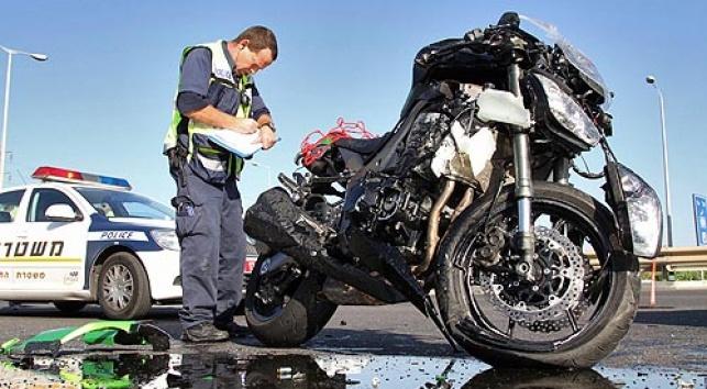 רוכב אופנוע חרדי נפצע באורח קשה
